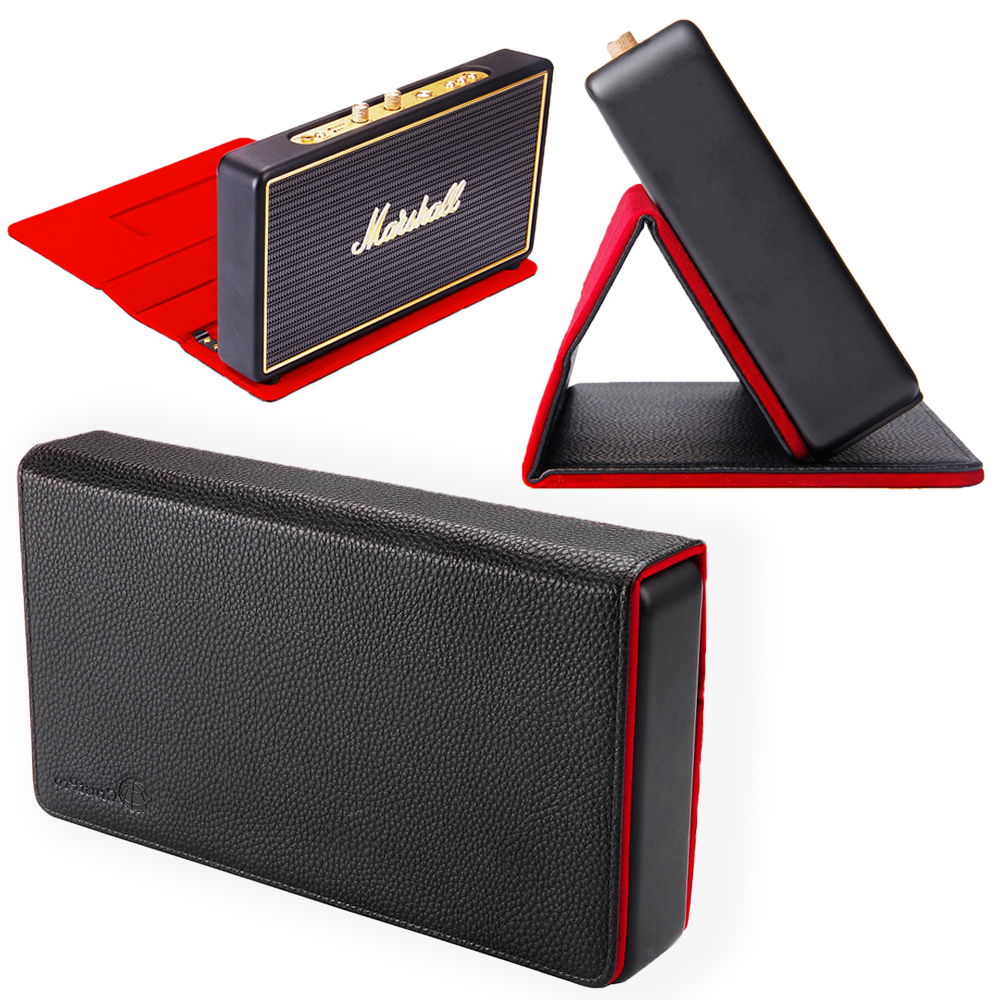 New Case With Magnetic Suction Function PU Travel Carrying Storage Case For Marshall Stockwell Portable Bluetooth Speaker spark storage bag portable carrying case storage box for spark drone accessories can put remote control battery and other parts