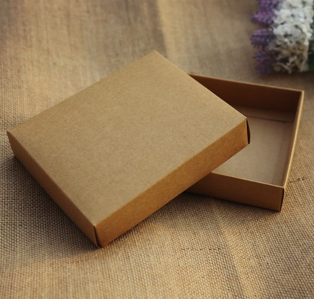 kraft apparel box