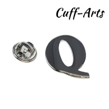 Cuffarts A-Z Letters Lapel Pin 2018 Alphabet Badges Men Jewelry Brooch Pins For Women Or P10024