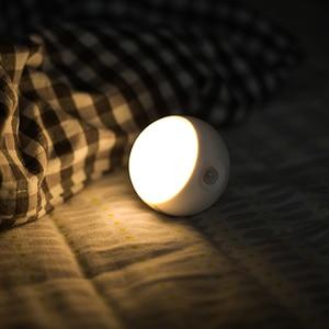 Image 4 - [HOT] oryginalna Sothing Sunny inteligentna inteligentna ludzka indukcja ciała LED light akumulator sterowanie głosem ręczne