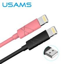 USAMS 1 м IOS10 2А Быстрая Зарядка Зарядное Устройство Usb Кабель для iPhone 5s iPad iPod H132
