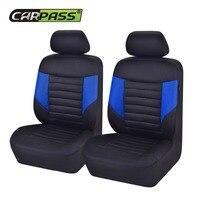 Auto Interior Zone Fashion New Luxury Design Deodorant 2 Front Stripe Car Seat Covers Backseat Covers