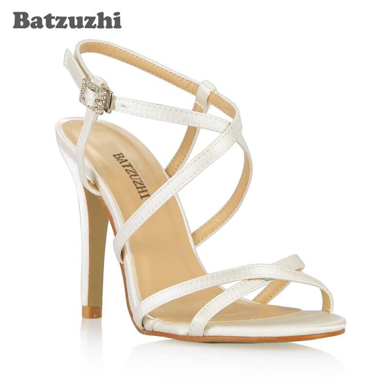 7603ec0cc Batzuzhi Antumn Primavera Mulheres Sapatos de Bico fino com Tira No  Tornozelo Fivela Sapatos das Mulheres Sapatos De Salto Alto Designer De  Luxo para ...