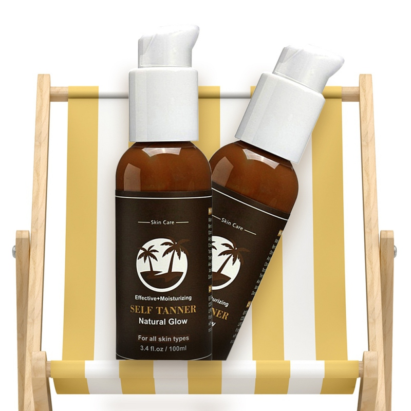 49657b3ac83b0 Organic and Natural Ingredients Sunless Tanning Lotion and Best Bronzer  Golden Buildable Light