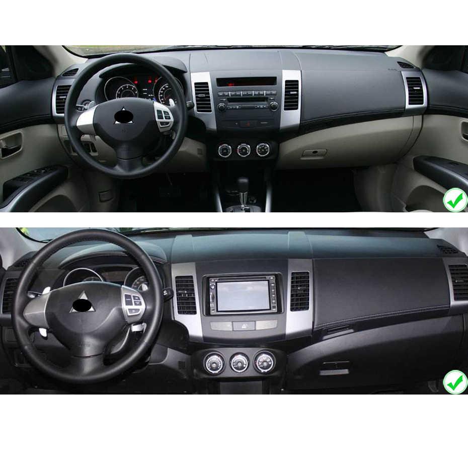 """8 """"ekran IPS DSP androida 9.0 4G 64G 2 DIN samochodowy odtwarzacz dvd odtwarzacz dla Mitsubishi Outlander radio stereo z gps odbiornik nawigacji PC"""