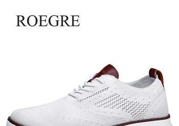 Повседневная трикотажная Мужская обувь из сетчатого материала Однотонная легкая мягкая обувь для мужчин на шнуровке дышащая мужская обувь...