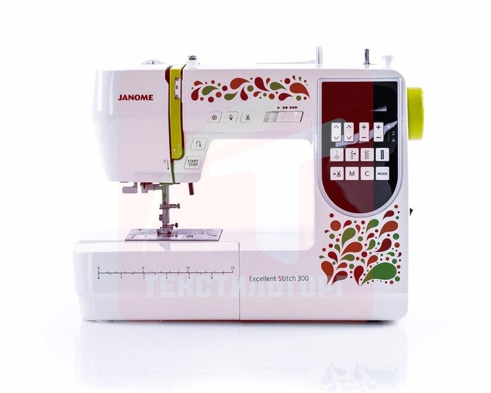 Sewing Machine Janome Excellent Stitch 300 (ES 300) ac 220v 300 hand pressure pp pe sealer plastic film manual sealing machine packing machine packaged tools