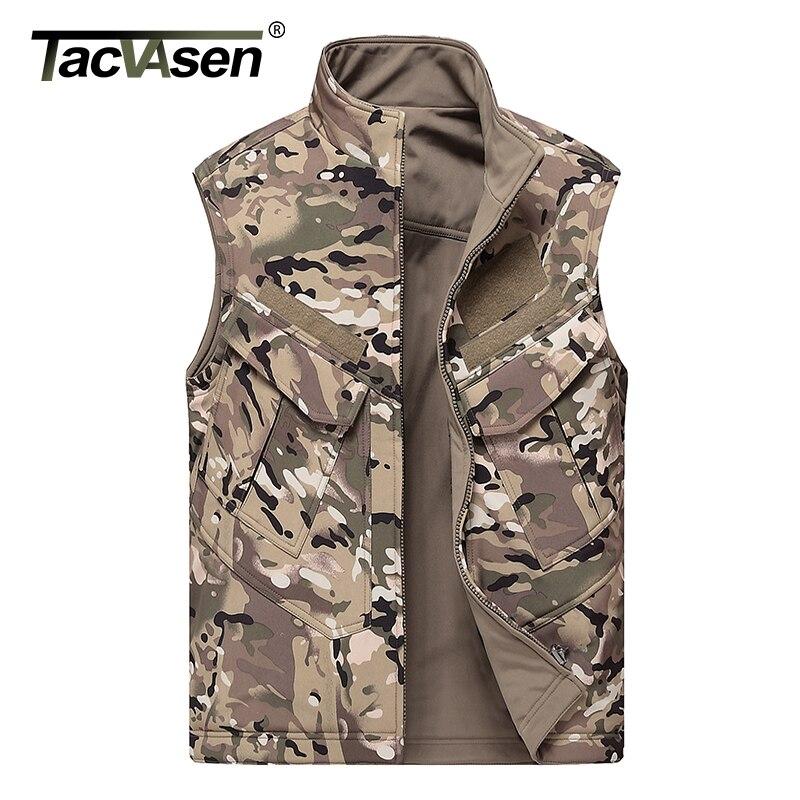 Tacvasen combat tactical vest men hunt sleeveless jacket for Mens sleeveless denim shirt wholesale