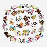20-50pcs Colorful 2 Fori di Legno Bottoni Per Scrapbook Artigianato FAI DA TE Per Bambini Accessori di Abbigliamento Cucito Decorativo Bottoni L-1