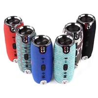 Portable Wireless Bluetooth Speaker music Box Outdoor Column charge mini Speaker hifi loudspeaker with usb TF Player for jbl