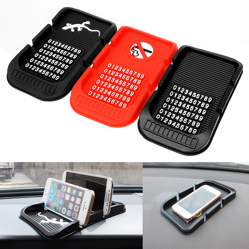 With Numbers Phone Holder Parking GPS Holders For Key Cell