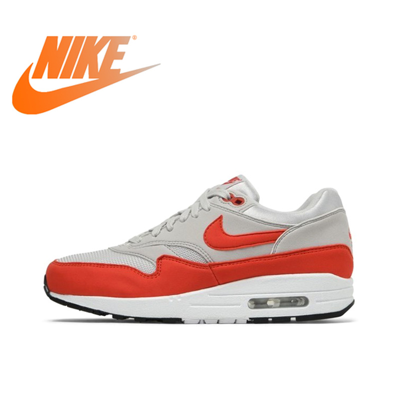 Original authentique NIKE AIR MAX 1 femmes chaussures de course baskets respirant Sport en plein AIR marche Jogging confortable DurableOriginal authentique NIKE AIR MAX 1 femmes chaussures de course baskets respirant Sport en plein AIR marche Jogging confortable Durable