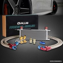 UK Shipping Gplus 13 ROW Thermostat Adaptor Engine Racing Oil Cooler Kit For Car/Truck