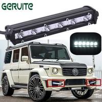 Heißer Verkauf 7 ''mit C Chips LED Auto Arbeitslicht 18 Watt LED Bar Tag licht LED Lampe Auto Einreihige 12 V 24 V Spot DRL Für ATV Jeep ORV