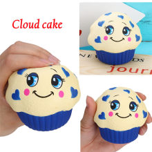 Squishy Toy Spongy Squishies Jumbo Yummy Cloud Cake Slow Rising Squeeze Stress Reliever Charm Toy Gift MAY 17(China)