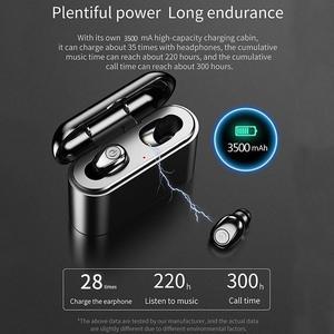 Image 3 - X8 Tws True Draadloze Bluetooth Oortelefoon Headset Waterdichte ipx8 5.0 Mini Sport Oordopjes Blutooth Oortelefoon met Microfoon Opladen Doos