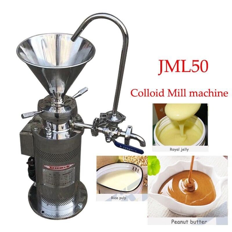 220v Kolloid mühle sesam kolloid mühle erdnuss butter kolloid mühle soja schleif maschine beschichtung schleifen maschine JML50