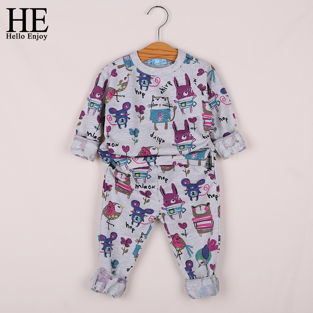 Kids Clothes Girls Winter Brand 2018 Girls Clothing Sets Long Sleeve Graffiti Print Sweatshirts Pants 2Pcs Sport Suit Outfit In Clothing Sets From Mother