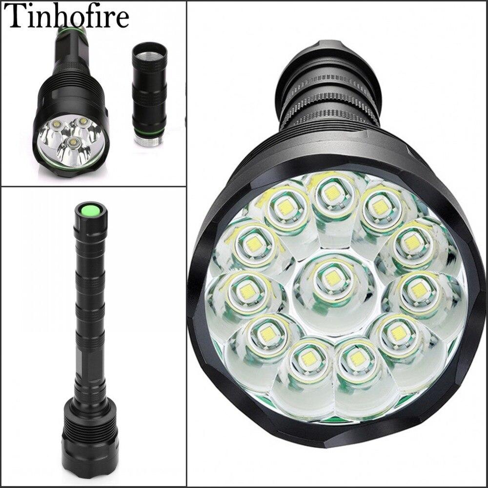 Tinhofire CX 3/4/5/6/7/8/9/10/11/12 T6 CREE XM-L T6 3800-16000 Lumens 5-Mode LED Flashlight Torch Lamp Light