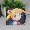 Японский Мультфильм Аниме Sailor Moon Kawaii Бумажник PU Кожа Короткие Держатель Карты Кошелек Студент Подарок Carteira