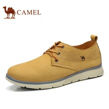 Camel 2017 men's new arrival daily casual  fashion all-match nubuck leather shoes tooling