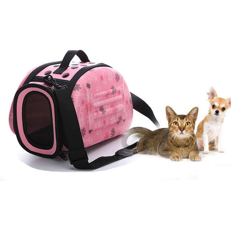 Portable Travel Pet Bag Outdoor Puppy Dog Cat Carrier Bags Shoulder Package Handbag Foldable Eva Material Soft Pets Dog Bag #3