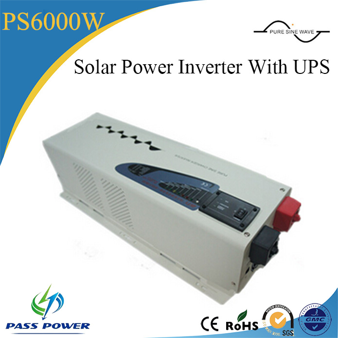 DC/AC Inverters Type and Single Output Type pure sine wave 6000w solar power inverter with ups