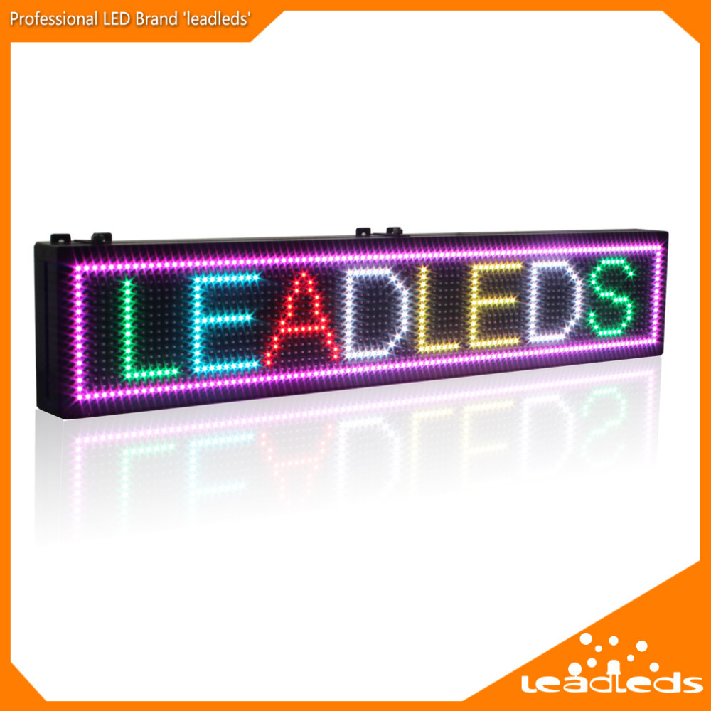 programmable scrolling led sign board