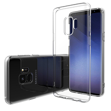 for Samsung Galaxy S9/ S9 Plus Cover Slim Crystal Clear Transparent Soft TPU Silicon Case s9/s9+ Cell Phone Protective Shell Bag