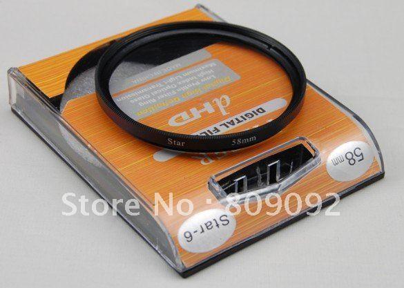 Godox 58 мм 6 Точка 6pt Star Объективы для фотоаппаратов фильтр