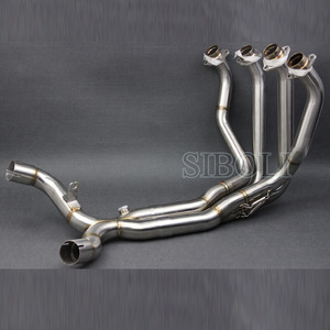 Image 4 - Z1000 עמעם פליטת אופנוע צינור שונה Stainess פלדה מלא מערכת עבור Kawasaki Z1000 2010 2011 2012 2013 2014 2015 2016