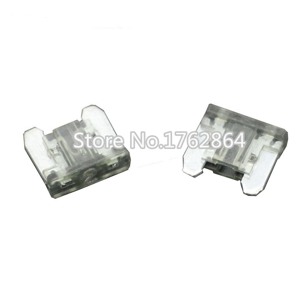 50PCS 2A Mini Size Auto fuse, Automotive Fuses Blade,The