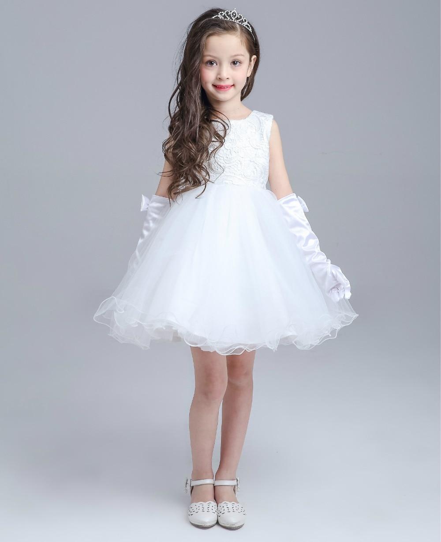 Baby Girl Birthday Wedding Party Formal Flower Girls Dresses Little
