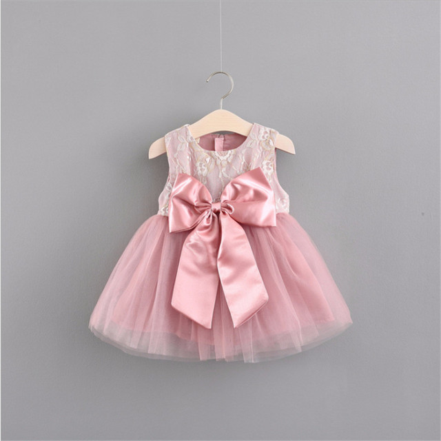 c495e65f43 US $13.19 29% OFF|Princess Girls Summer Dress for Kids Wedding Party  Dresses Baby Girl Cotton Summer Cloth Party Dresses for Elsa Minnie Kids  a69-in ...