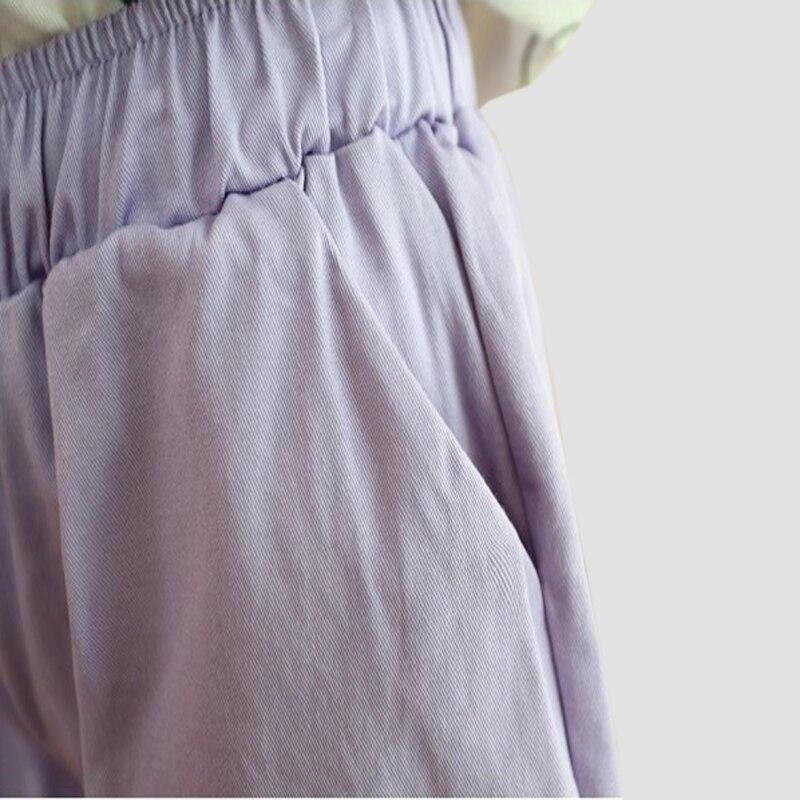 INDJXND Новый Прямой Свободные Большой Размер Конфеты Цвет Летние Шорты Тонкий Срез женщин Эластичный Шнурок Повседневная Пляж Горячие Стволы