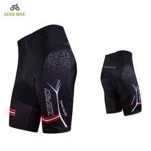 ZERO BIKE горячая Распродажа, мужские быстросохнущие велосипедные шорты, велосипедные шорты для горного велосипеда с 3D гелевой подкладкой, плотные шорты черного цвета, для езды на велосипеде, на велосипеде, с высокой талией, с гелевой подкладкой