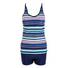Two Piece Plus Size High waist Swimwear