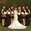 Black Short Lace Bridesmaid Dresses Halter Short Prom Dress Important Party Dresses Wedding Guest dresses   Z707