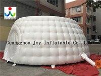ПВХ белый Цвет надувные под открытым небом брезент палатки со светодиодной подсветкой