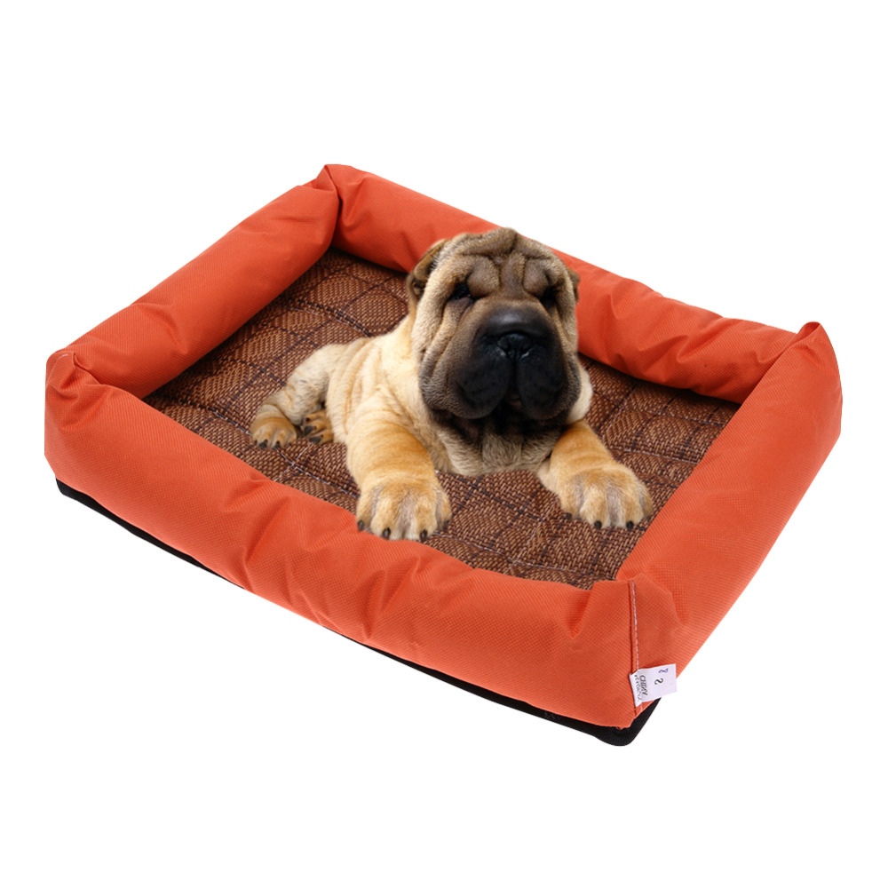 hot summer pet cooling pad oxford cloth pet dog bed cooling bed cushion basket pad mat