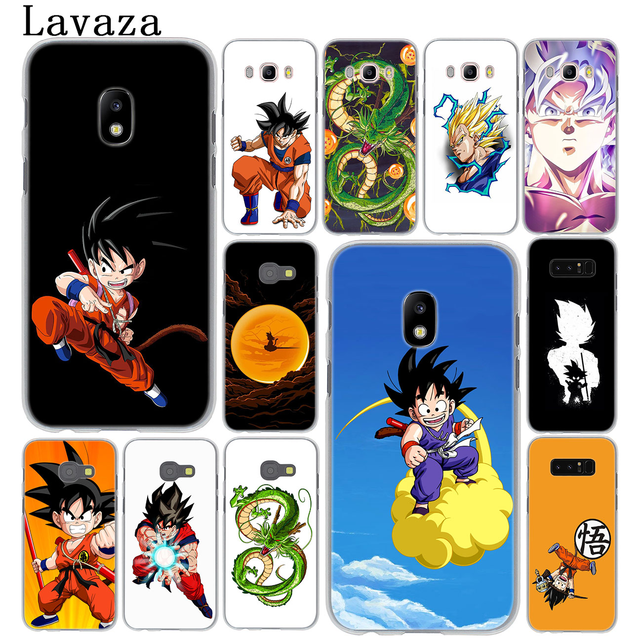 Strong-Willed Lavaza Dragon Ball Goku Hard Phone Case For Samsung Galaxy J6 J5 J1 J2 J3 J7 2017 2016 2015 Prime J7 Us Eu Version Cover Phone Bags & Cases