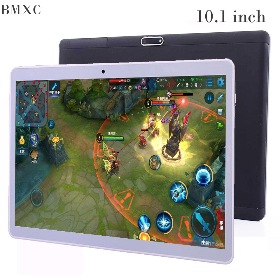 BMXC 10.1 inch 3G 4G Lte The Tablet PC Octa Core 4G RAM 64GB ROM Dual SIM Card Android 7.0 Tab GPS bluetooth tablets 10.1 +Gifts created x8s 8 ips octa core android 4 4 3g tablet pc w 1gb ram 16gb rom dual sim uk plug