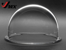 JMX 3.8 INCH Acrylic / PC Indoor / Outdoor CCTV Replacement Clear Camera Dome Housing Security Camera Dome