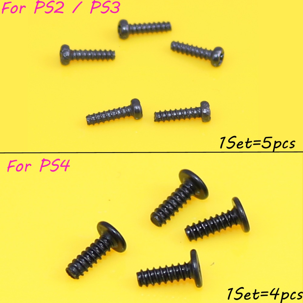 For Sony PS3 PS2 PS4 Controller Philips Head Replacement Screw Set Screws