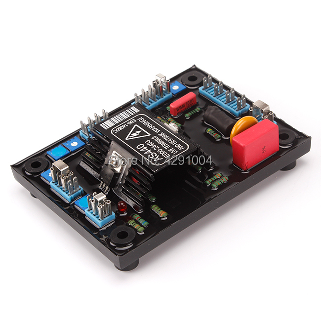 Match Alternator Voltage regulator AVR AS440-A with factory manufacturer from China match stamford avr as440 a red as440 for generator