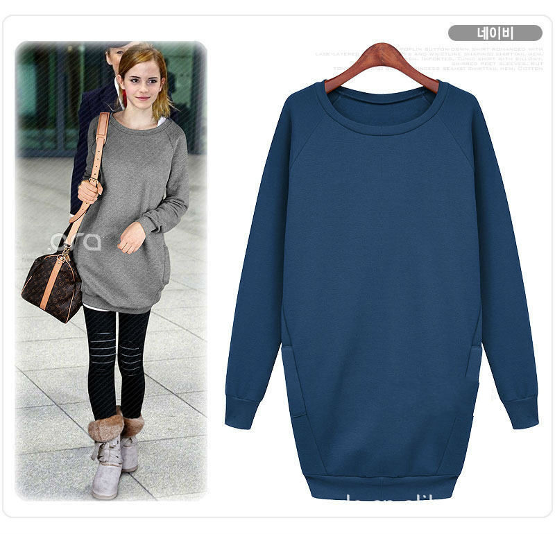 HotSale New O Neck Long Sleeve Pullover Hoodie Brand Clothes Women ...