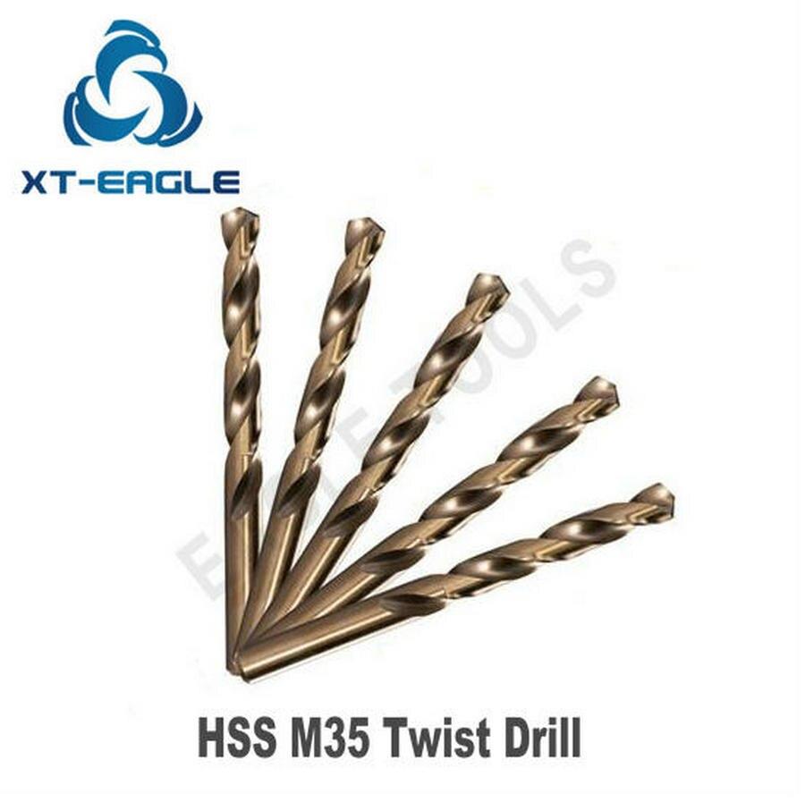 """4PCS NEW 5//32 DIA X 7/"""" LOC X 10/"""" OAL HSS USA MADE DRILL BIT MACHINE SHOP TOOLING"""