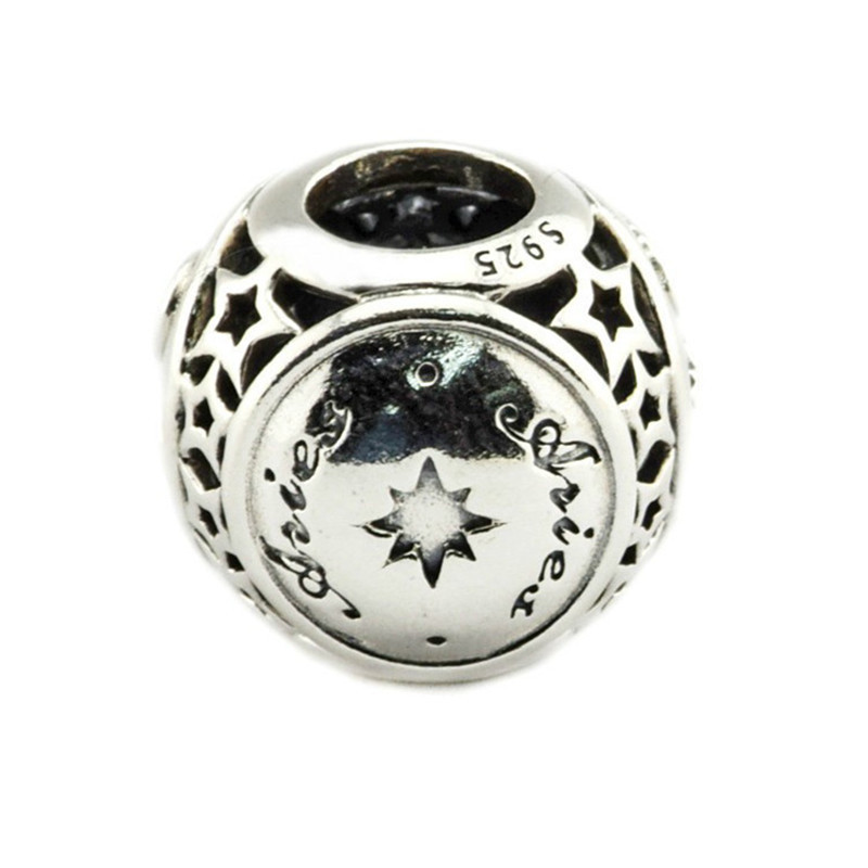 b61adb8dd ... buy 2018 autumn collection authentic 925 sterling silver bead aries  star sign charm fit original pandora