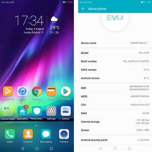 Image 2 - Honor Note 10 Mobiele Telefoon Kirin 970 Octa Core Mobiele Telefoon Dual Sim 6.95 Inch Android 8.1 Vingerafdruk Id Nfc
