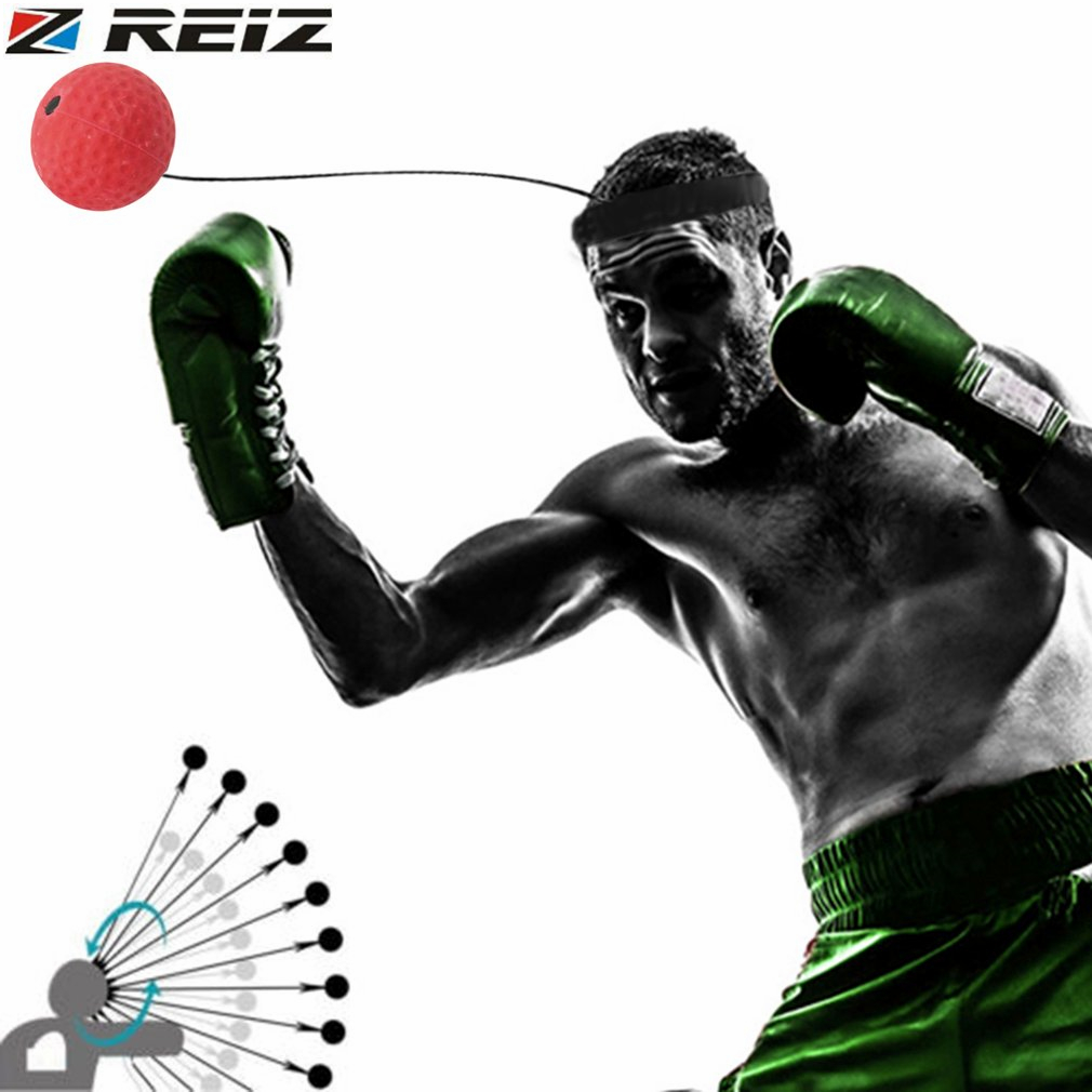 E305 Elasticity Head Band Wearing Boxing Equipment Fight Ball Training Speed Ball Muay Thai Trainer Quick Punching Top Quality